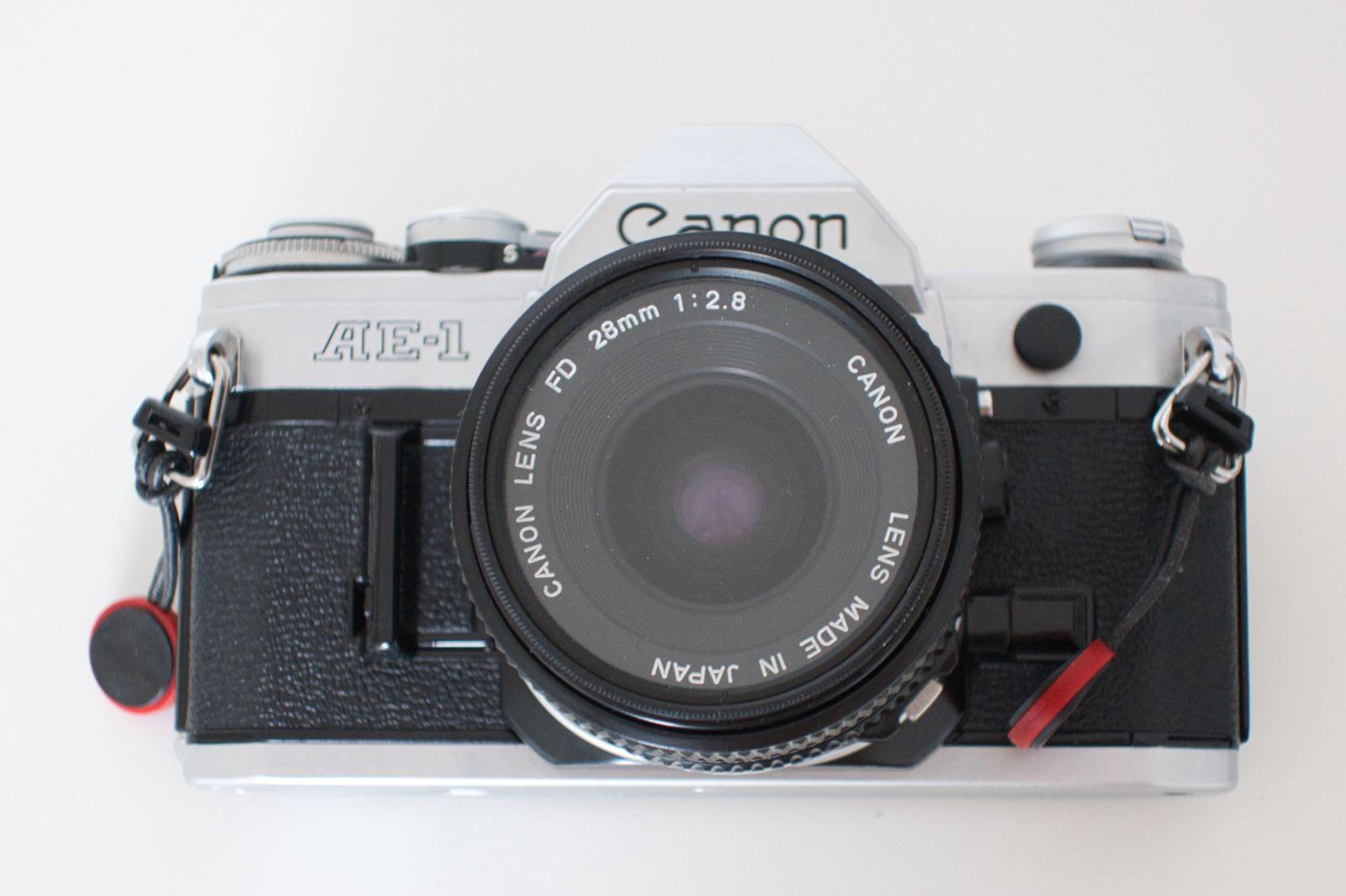 Die Canon AE-1, die beste manuelle und analoge Kamera