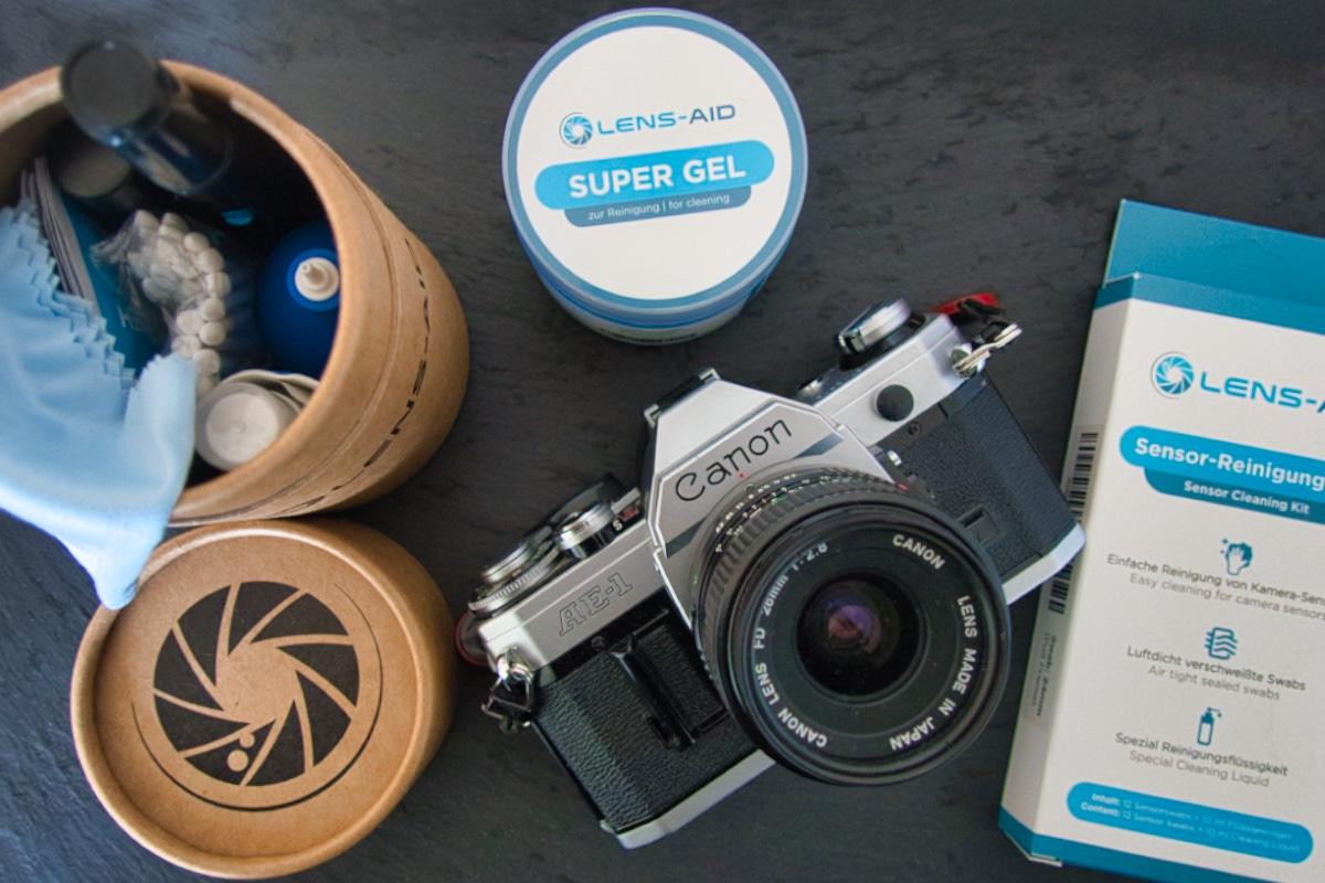 Kamerareinigung - Das kann man selbst reinigen und reparieren