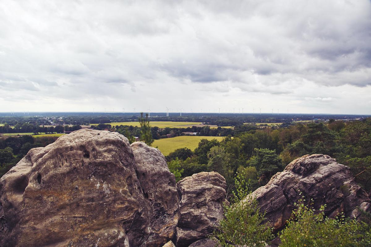 Fotospots an den Dörenther Klippen im Tecklenburger Land